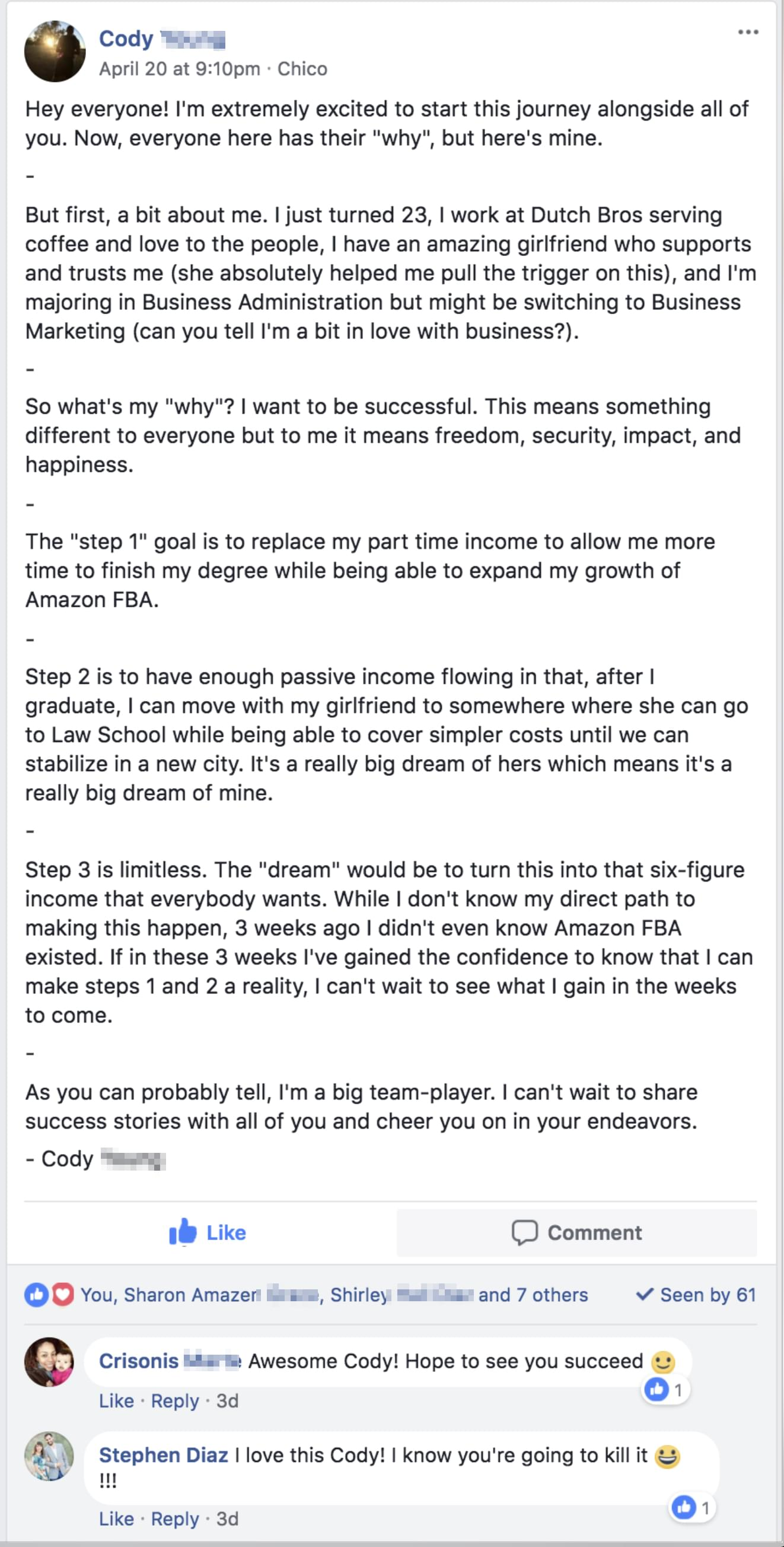 Passive Income Business Training